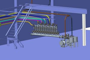 Industrial process manifold