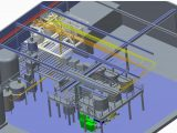 Piping process plant new