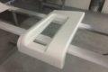 Glass fiber parts